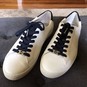 Michael Kors Irving Leather Sneakers